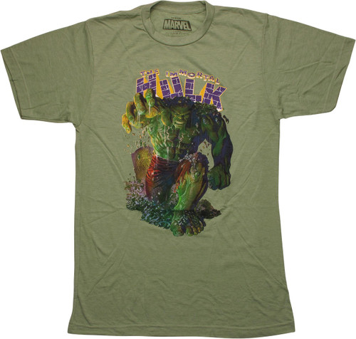 Incredible Hulk Immortal Hulk 1 Cover T-Shirt