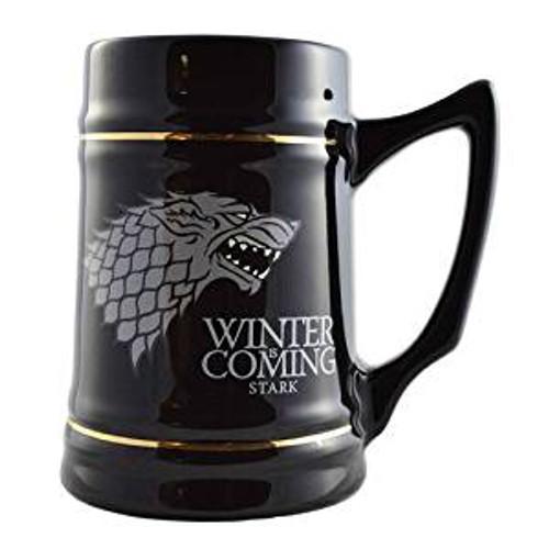 Game of Thrones Stark Winter is Coming Stein Mug