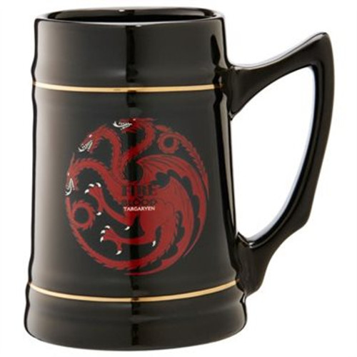 Game of Thrones Targaryen Fire and Blood Stein Mug
