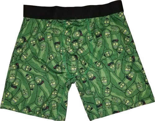 Rick and Morty Pickle Rick Boxer Briefs