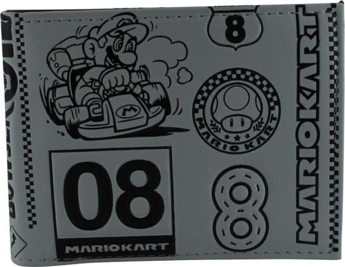 Mario Kart 8 Bi Fold Wallet