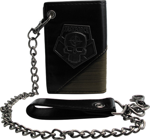 Suicide Squad Metal Task Force Chain Wallet