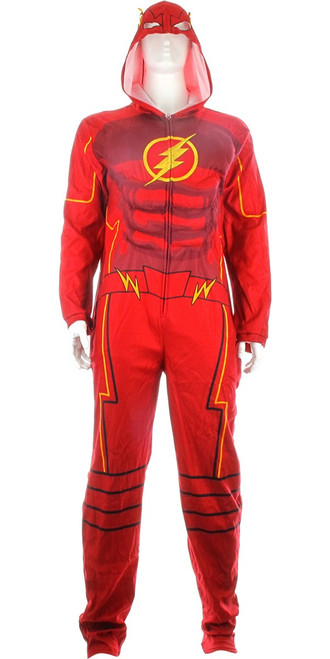 Flash Television Muscled Costume Union Suit