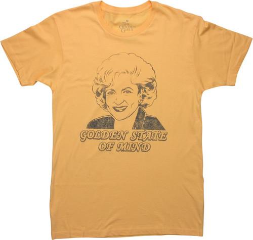 Golden Girls Rose Golden State of Mind T-Shirt