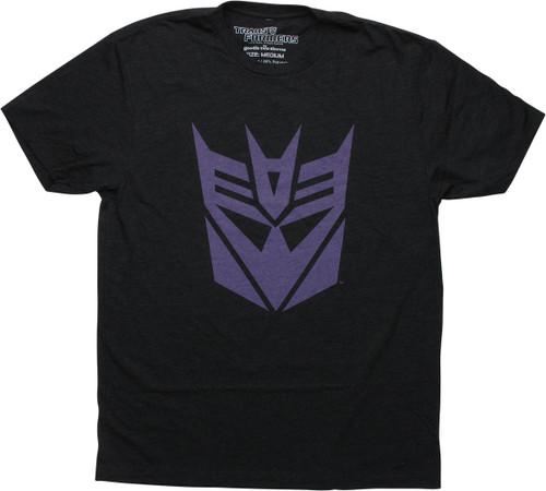 Transformers Decepticon Logo Charcoal GTS T-Shirt