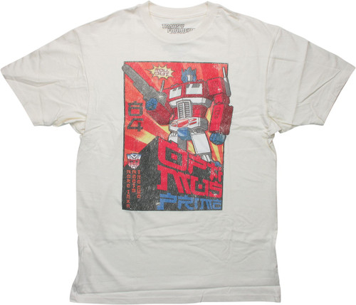 Transformers Optimus Prime Roll Out Asian T-Shirt