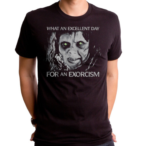 Exorcist Excellent Day for an Exorcism T-Shirt