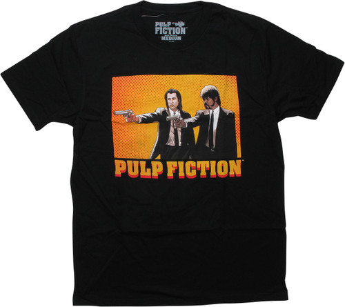 Pulp Fiction Vincent and Jules Guns Point T-Shirt
