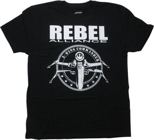 Star Wars Rebel Alliance X-Wing Commander T-Shirt