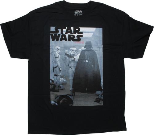 Star Wars Darth Vader Tantive IV Boarding T-Shirt