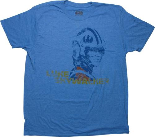 Star Wars X-Wing Pilot Luke Skywalker T-Shirt