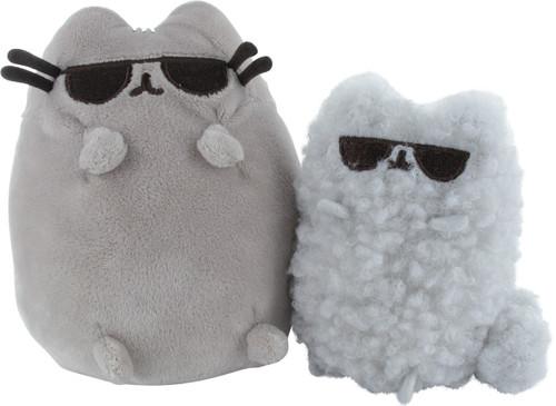 Pusheen the Cat and Stormy Sunglasses Plush Set