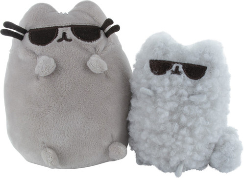 Pusheen the Cat and Stormy Sunglasses Plush Set