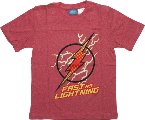 Flash Logo Fast as Lightning Toddler T-Shirt