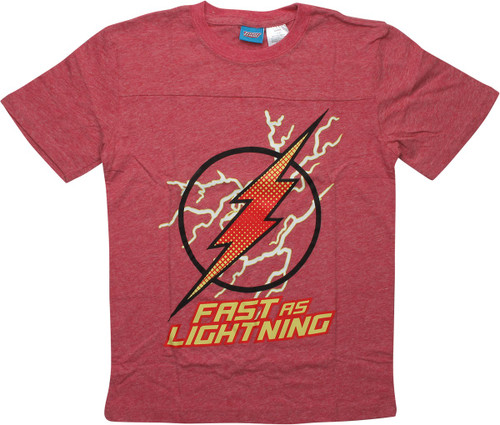 Flash Logo Fast as Lightning Youth T-Shirt