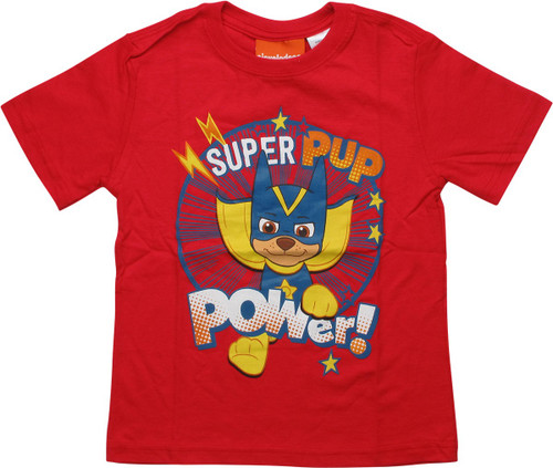 Paw Patrol Super Pup Power Red Toddler T-Shirt