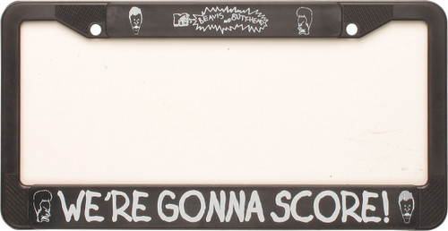 Beavis and Butthead Score License Plate Frame