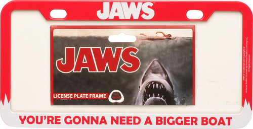 Jaws Gonna Need a Bigger Boat License Plate Frame