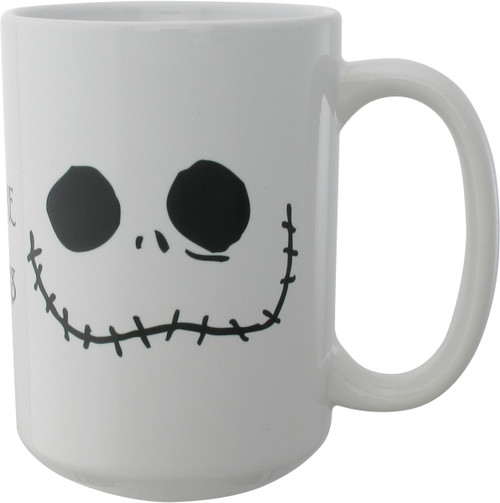 Nightmare Before Christmas Jack Happy Angry Mug