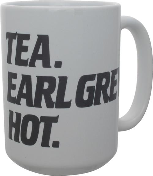 Star Trek TNG Tea Earl Grey Hot Mug