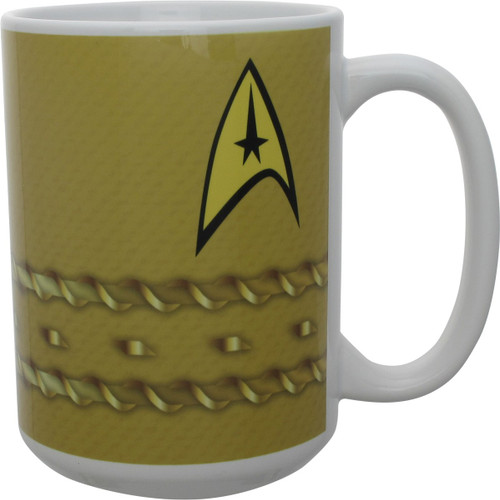 Star Trek TOS Captain Kirk Uniform Mug
