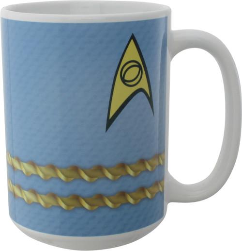 Star Trek TOS Spock Uniform Mug