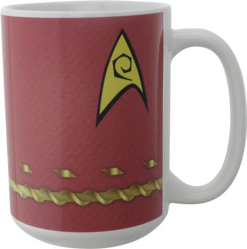 Star Trek TOS Scotty Uniform Mug