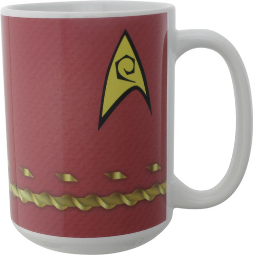Star Trek TOS Scotty Uniform Mug