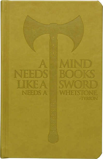 Game of Thrones Tyrion A Mind Needs Books Journal