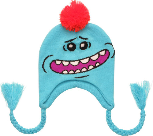 Rick and Morty Happy Mr Meeseeks Lapland Beanie