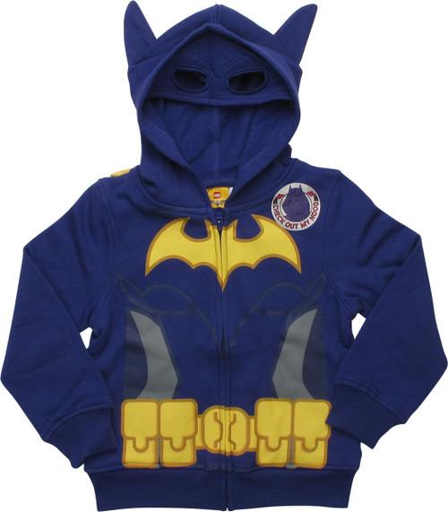 Lego Batman Batgirl Caped Costume Toddler Hoodie