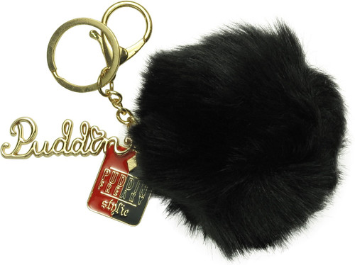 Suicide Squad Harley Quinn Puddin Pom Keychain
