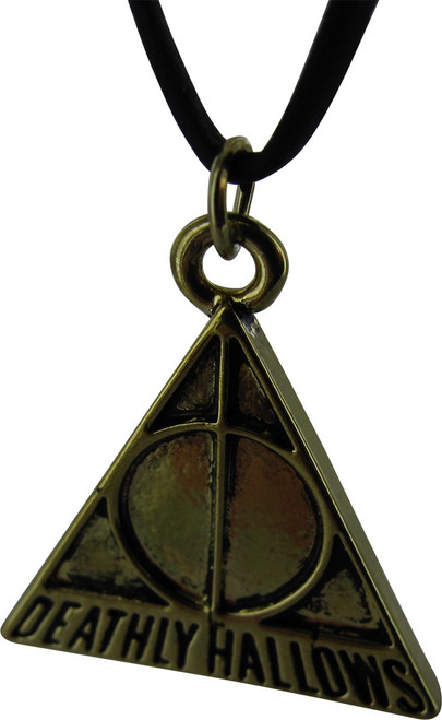 Harry Potter Deathly Hallows Triangle Necklace