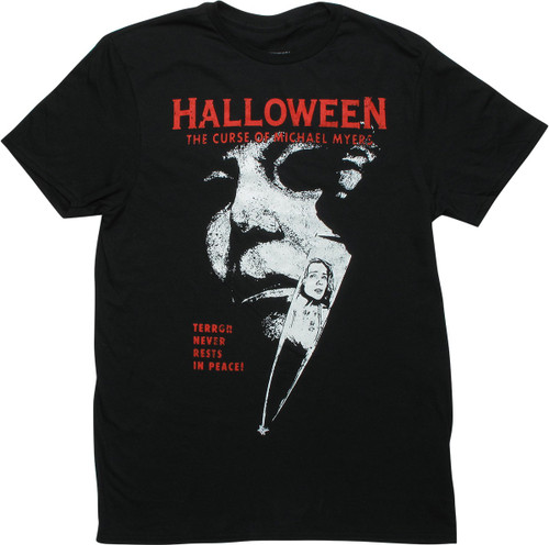 Halloween Curse of Michael Myers Poster T-Shirt