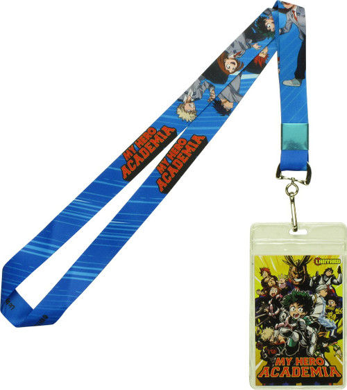 My Hero Academia Class A-1 Students Blue Lanyard