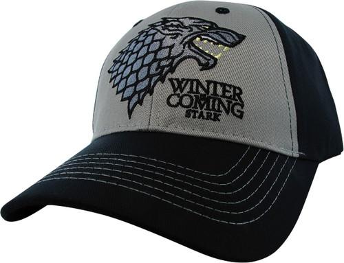 Game of Thrones Stark Winter is Coming Velcro Hat