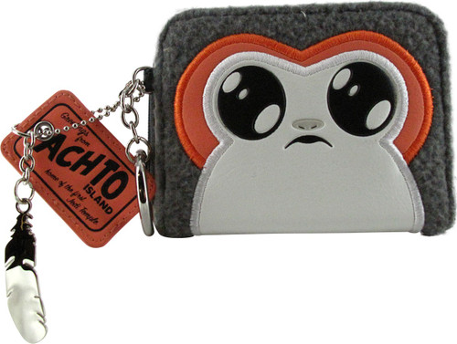 Star Wars Force Awakens Porg Mini Bi-Fold Wallet