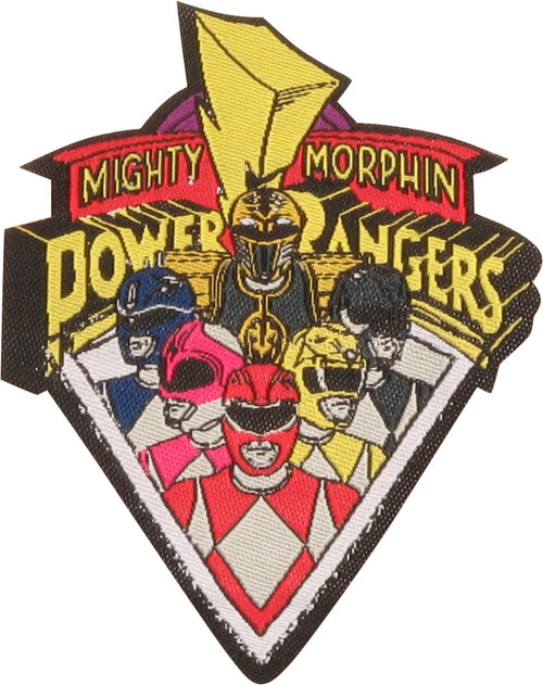 Power Rangers Group Logo Patch