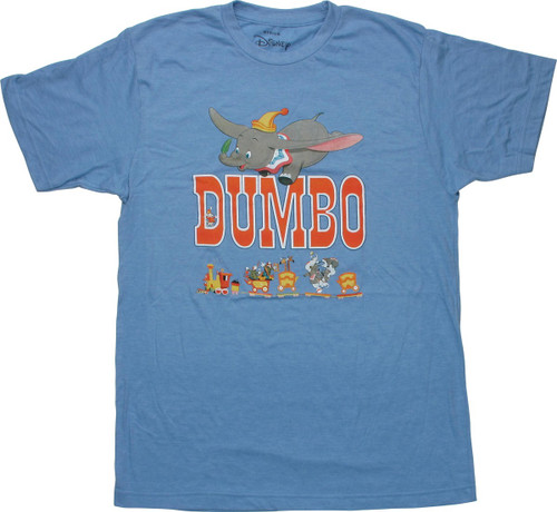 Dumbo 1976 Theatrical Re-Release Poster T-Shirt