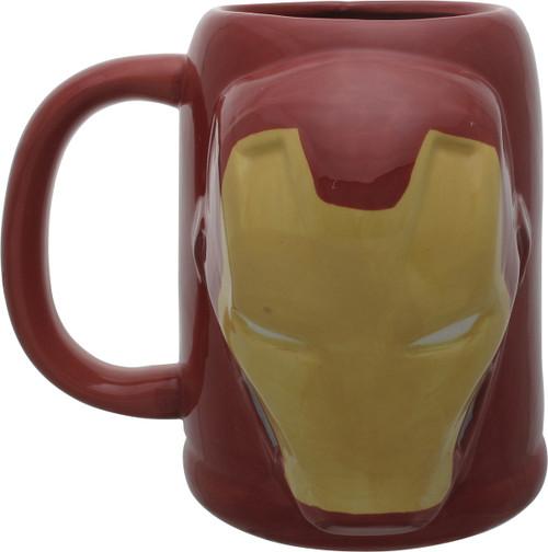 Iron Man Helmet Bust Civil War Sculpted Mug