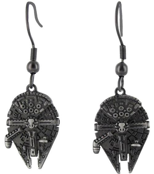 Star Wars 3D Millennium Falcon Dangle Earrings