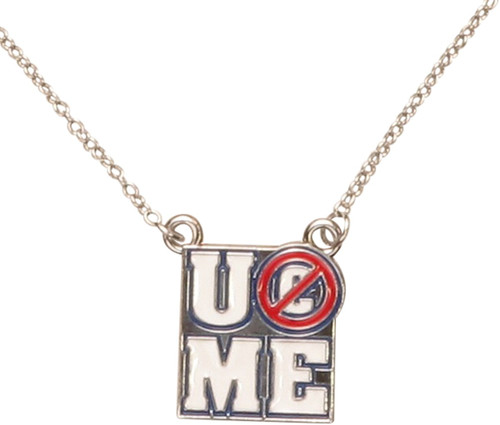 WWE John Cena You Can't See Me Necklace