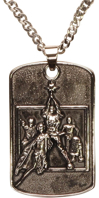 Star Wars New Hope Poster Pendant Necklace