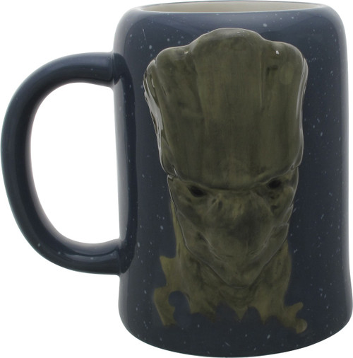 Guardians of the Galaxy Groot Bust Sculpted Mug