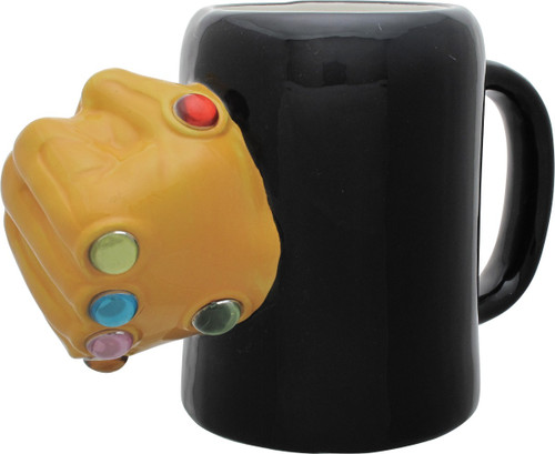 Avengers Infinity Gauntlet Sculpted Mug