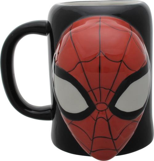 Spiderman Mask Sculpted Mug