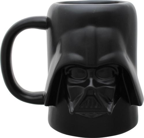 Star Wars Darth Vader Helmet Sculpted Mug