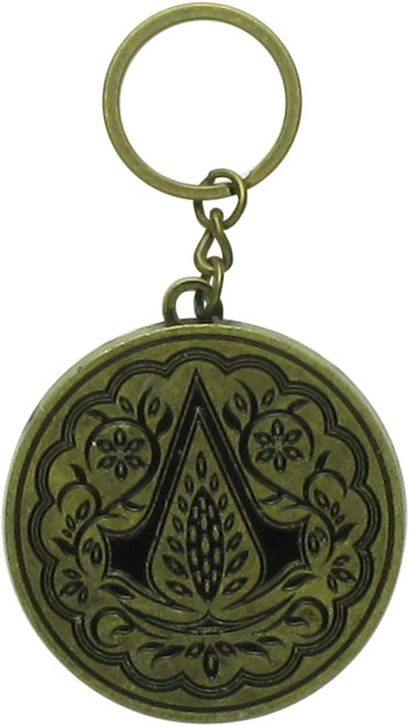 Assassins Creed Movie Logo Metal Keychain