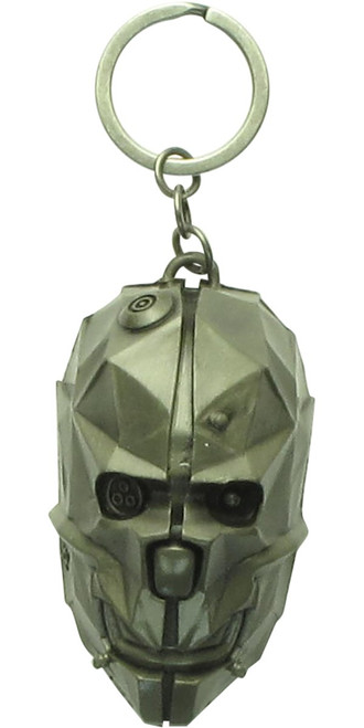 Dishonored 2 3D Mask Metal Keychain