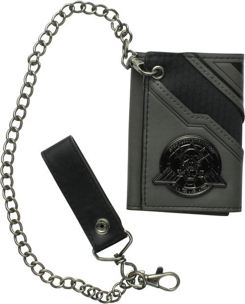 Call of Duty SCAR Logo Tri-Fold Chain Wallet